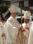 Papal Nuncio Archbishop Joseph Edward Adams with Calbayog Bishop Isabelo Abarquez