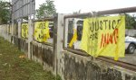 justice-4-uy-banners-calbayog-airport